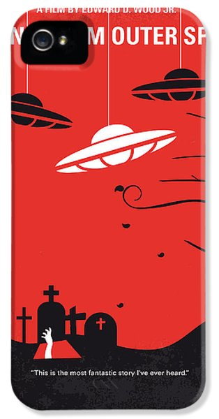 No518 My Plan 9 From Outer Space Minimal Movie Poster IPhone 5 Case