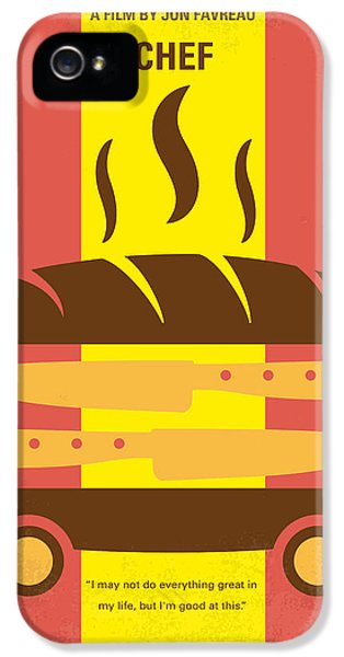 Miami iPhone 5 Case - No524 My Chef Minimal Movie Poster by Chungkong Art