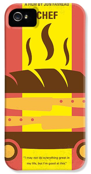 Truck iPhone 5 Case - No524 My Chef Minimal Movie Poster by Chungkong Art