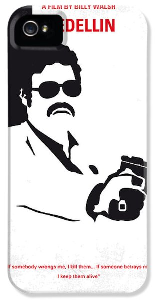 No526 My Medellin Minimal Movie Poster IPhone 5 Case