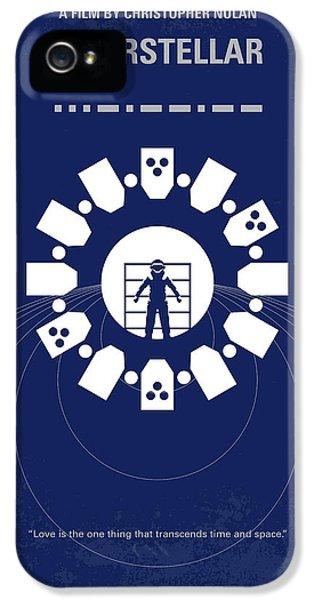 No532 My Interstellar Minimal Movie Poster IPhone 5 Case