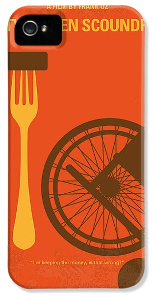 No536 My Dirty Rotten Scoundrels Minimal Movie Poster IPhone 5 Case