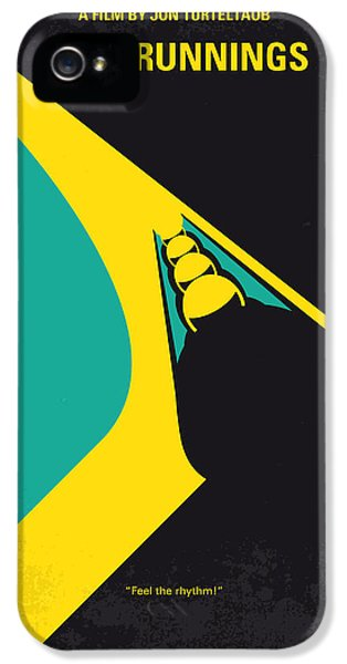 No538 My Cool Runnings Minimal Movie Poster IPhone 5 Case