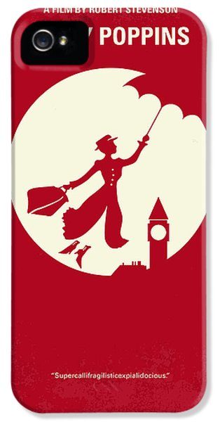 No539 My Mary Poppins Minimal Movie Poster IPhone 5 Case by Chungkong Art