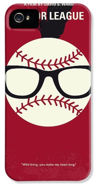 No541 My Major League Minimal Movie Poster IPhone 5 Case