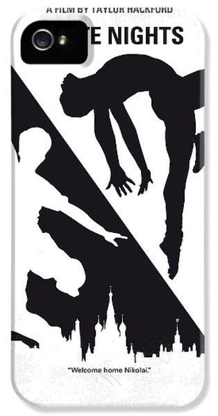 No554 My White Nights Minimal Movie Poster IPhone 5 Case