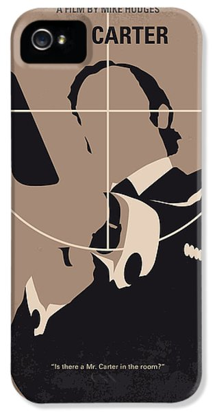 No557 My Get Carter Minimal Movie Poster IPhone 5 Case