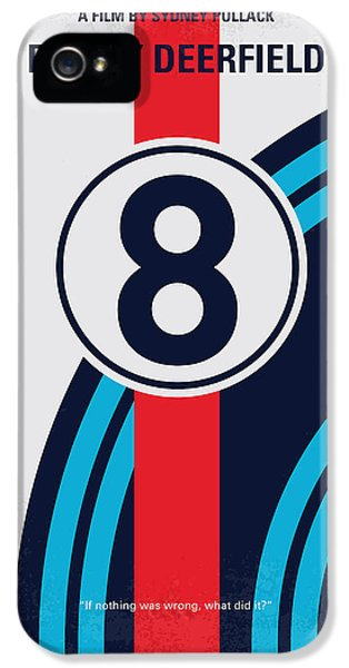 No565 My Bobby Deerfield Minimal Movie Poster IPhone 5 Case by Chungkong Art