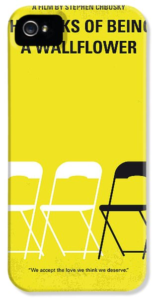 No575 My Perks Of Being A Wallflower Minimal Movie Poster IPhone 5 Case by Chungkong Art