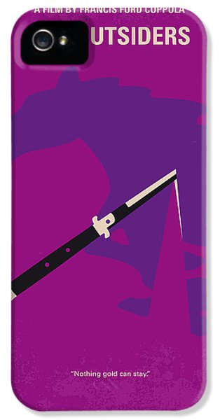 No590 My The Outsiders Minimal Movie Poster IPhone 5 Case