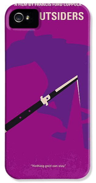 No590 My The Outsiders Minimal Movie Poster IPhone 5 / 5s Case by Chungkong Art