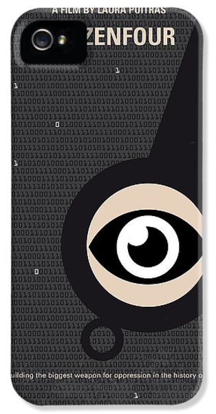 No598 My Citizenfour Minimal Movie Poster IPhone 5 Case by Chungkong Art