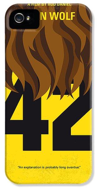No607 My Teen Wolf Minimal Movie Poster IPhone 5 Case