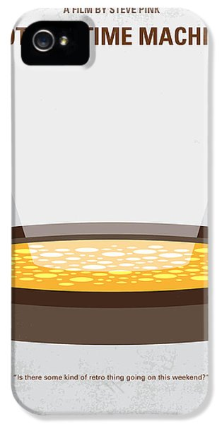 No612 My Hot Tub Time Machine Minimal Movie Poster IPhone 5 Case