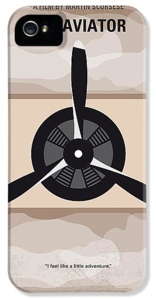No618 My The Aviator Minimal Movie Poster IPhone 5 Case