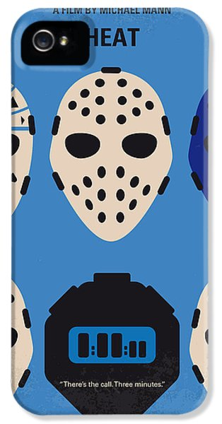 No621 My Heat Minimal Movie Poster IPhone 5 Case by Chungkong Art