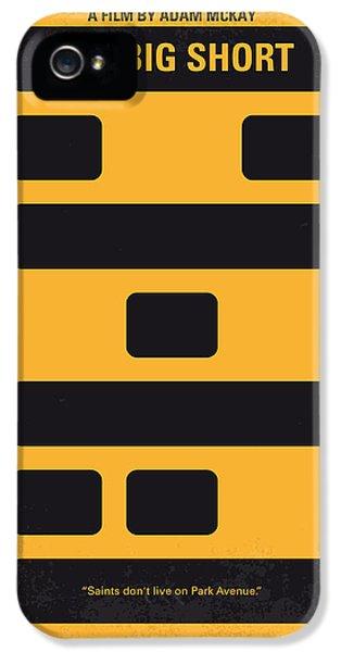 No622 My The Big Short Minimal Movie Poster IPhone 5 Case by Chungkong Art
