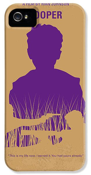No636 My Looper Minimal Movie Poster IPhone 5 Case