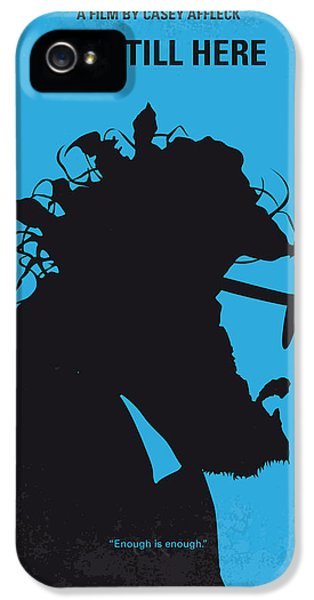 No637 My I Am Still Here Minimal Movie Poster IPhone 5 Case by Chungkong Art