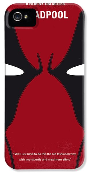 No639 My Deadpool Minimal Movie Poster IPhone 5 Case