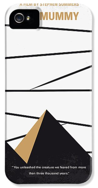 No642 My The Mummy Minimal Movie Poster IPhone 5 Case by Chungkong Art