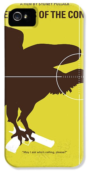 Condor iPhone 5 Case - No659 My Three Days Of The Condor Minimal Movie Poster by Chungkong Art