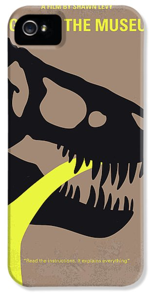 No672 My Night At The Museum Minimal Movie Poster IPhone 5 Case