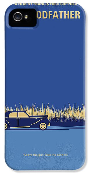 No686-1 My Godfather I Minimal Movie Poster IPhone 5 Case