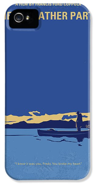 No686-2 My Godfather II Minimal Movie Poster IPhone 5 Case