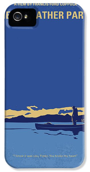 No686-2 My Godfather II Minimal Movie Poster IPhone 5 Case by Chungkong Art