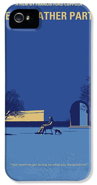 No686-3 My Godfather IIi Minimal Movie Poster IPhone 5 Case by Chungkong Art