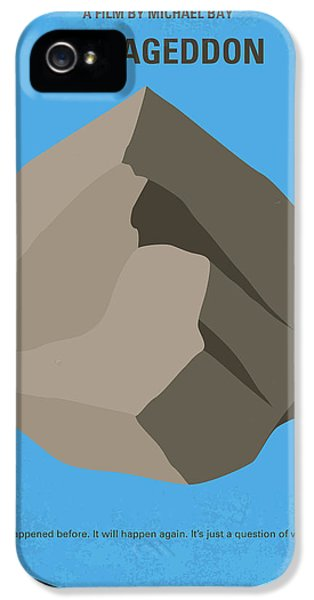 No695 My Armageddon Minimal Movie Poster IPhone 5 Case