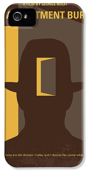 No710 My The Adjustment Bureau Minimal Movie Poster IPhone 5 Case by Chungkong Art