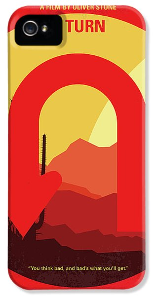 No745 My Uturn Minimal Movie Poster IPhone 5 / 5s Case by Chungkong Art