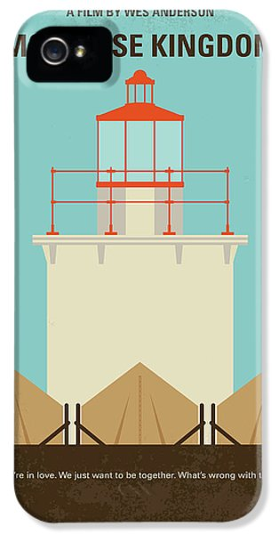 No760 My Moonrise Kingdom Minimal Movie Poster IPhone 5 Case