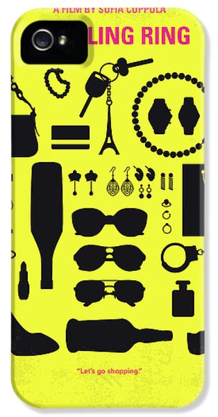 No784 My The Bling Ring Minimal Movie Poster IPhone 5 Case