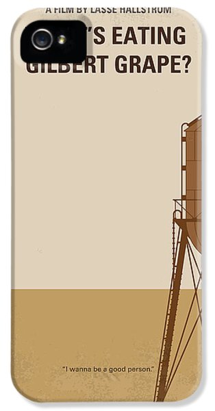 No795 My Whats Eating Gilbert Grape Minimal Movie Poster IPhone 5 Case by Chungkong Art