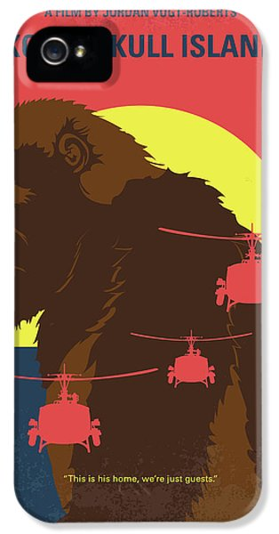 No799 My Skull Island Minimal Movie Poster IPhone 5 Case