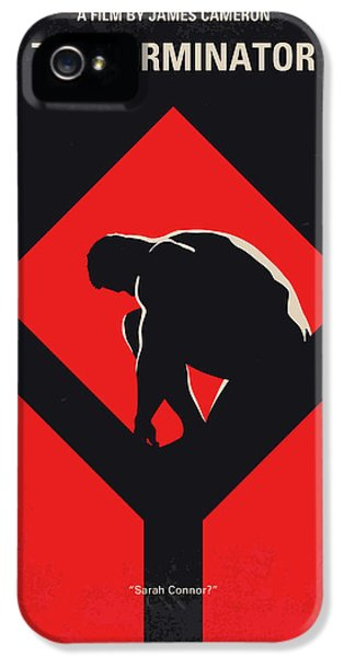 No802-1 My The Terminator 1 Minimal Movie Poster IPhone 5 Case