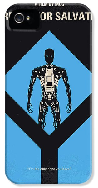 No802-4 My The Terminator 4 Minimal Movie Poster IPhone 5 Case