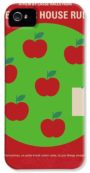 No807 My The Cider House Rules Minimal Movie Poster IPhone 5 Case by Chungkong Art