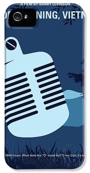 No811 My Good Morning Vietnam Minimal Movie Poster IPhone 5 Case