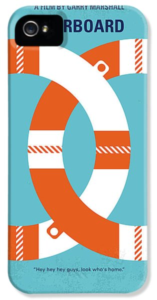 No815 My Overboard Minimal Movie Poster IPhone 5 Case