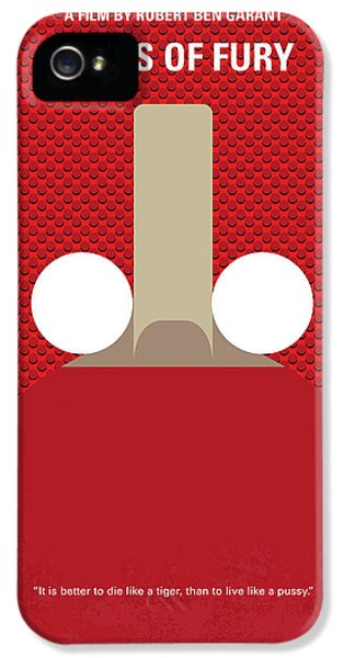 London Tube iPhone 5 Case - No822 My Balls Of Fury Minimal Movie Poster by Chungkong Art