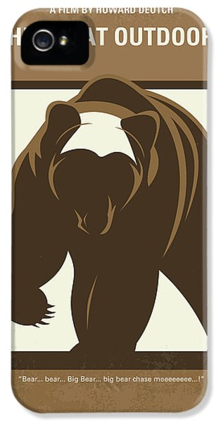 No824 My The Great Outdoors Minimal Movie Poster IPhone 5 Case
