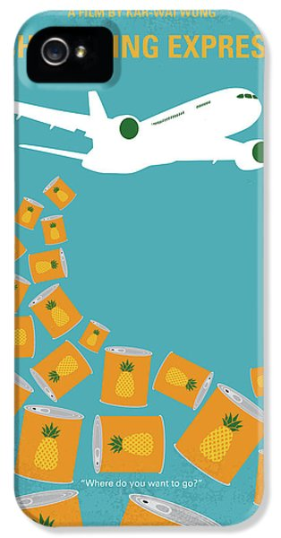 No835 My Chungking Express Minimal Movie Poster IPhone 5 Case