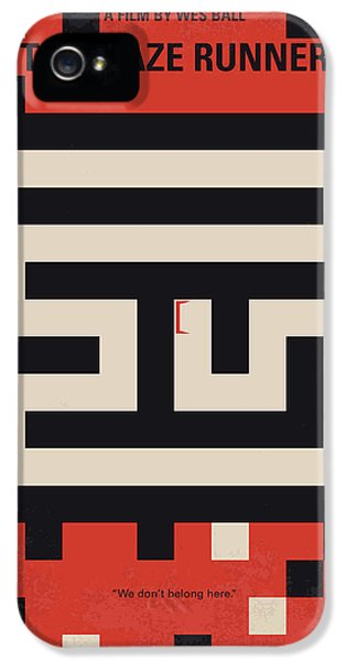 No837 My The Maze Runner Minimal Movie Poster IPhone 5 Case