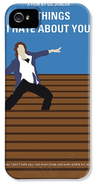 No850 My 10 Things I Hate About You Minimal Movie Poster IPhone 5 Case