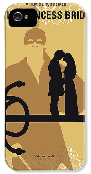 No877 My The Princess Bride Minimal Movie Poster IPhone 5 Case