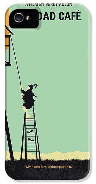 Magician iPhone 5 Case - No964 My Bagdad Cafe Minimal Movie Poster by Chungkong Art